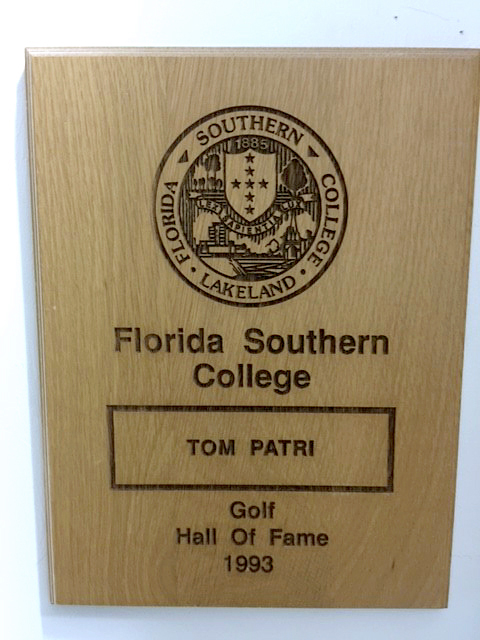 1993 Florida Southern College Athletic Hall of Fame-Tom Patri