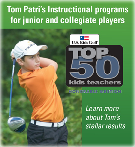Tom Patri ranked as a Top 50 Golf Instructor