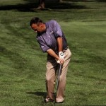 Chipping the ball (by Tom Patri)
