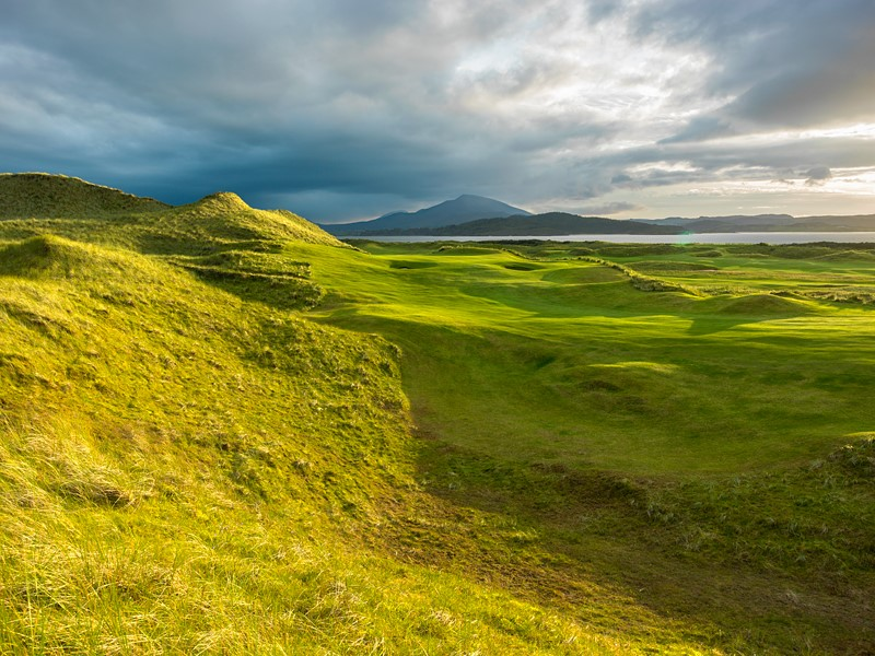 May - 4th Hole, Rosapenna - Sandy Hills Links