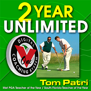 2 Year Unlimited V1 Video Golf Lessons